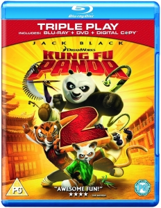 Kung Fu Panda 2 - Triple Play (Blu-Ray, DVD and Digital Copy)