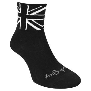 SockGuy Black Jack Cycling Socks