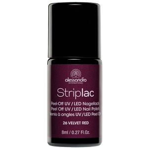 Striplac Velvet Red UV Nail Polish (8ml)