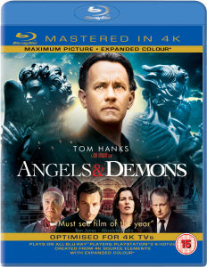 Angels and Demons - Mastered in 4K Edition (Includes UltraViolet Copy)