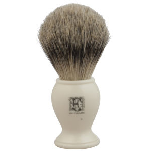 Geo. F. Trumper PB2IS Simulated Ivory Super Badger Shaving Brush