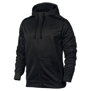 Nike Men's Shield Nailhead Full Zip Hoody - Black