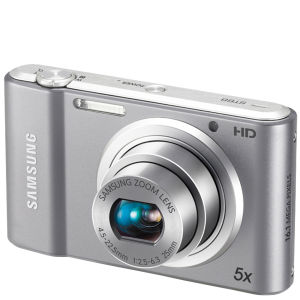 Samsung ST68 Digital Camera – Silver (16MP, 5x Optical, 2.7 Inch LCD)