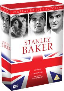 Stanley Baker Box Set - Violent Playground / Sea Fury / Checkpoint