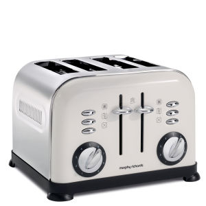 Morphy Richards 4 Slice Accents Toaster - White