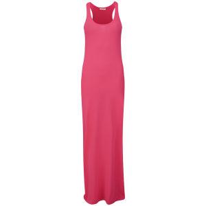 Brave Soul Women's Neon Maxi Dress - Pink