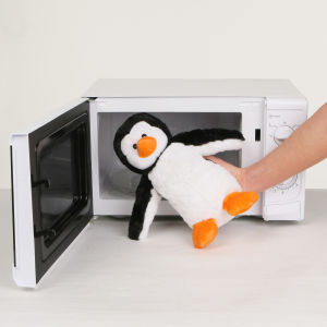 Cozy Heatable Plush Penguin