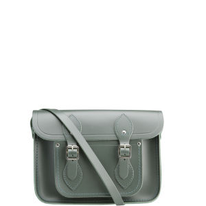Cambridge Satchel Company 11 Inch Leather Satchel - Dark Olive
