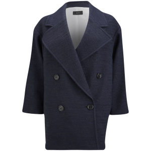 Joseph Women's Maubert Summer Tweed Coat - Navy