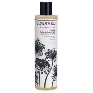 Gel bain et douche relaxant Cowshed Knackered Cow 300ml