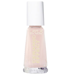 Layla Cosmetics Ceramic Effect Nail Polish N.47 Pink Bubbles (10ml)