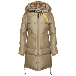 Parajumpers Women's Long Bear Down Coat - Cappuccino