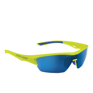 Salice 011 RW Sports Sunglasses - Mirror - Yellow/RW Blue