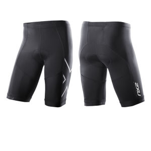 2XU Men's G:2 Compression Triathlon Shorts - Black