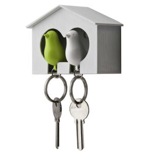 Sparrow Keyring Double Green