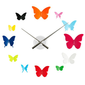 Karlsson Wall Clock DIY - Butterflies