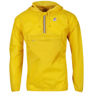 K - Way Men's Leon Half Zip Jacket - Yellow