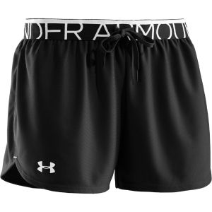 Under Armour Women's Play Up Shorts - Black/White