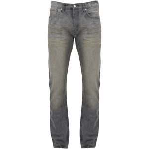 Billionaire Boys Club Men's Classic 5PKT Mid Rise Jeans - Grey Wash