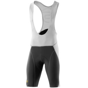 Skins C400 Men's Compression Bib Shorts White/Grey