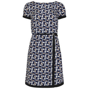 Orla Kiely Women's Buckle Dress - Indigo