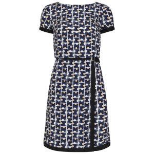 Orla Kiely Women's Buckle Dress - Indigo