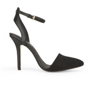Miss KG Women's Alba Pointed Toe Heeled Sandals - Black