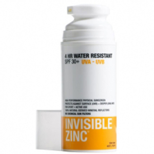 INVISIBLE ZINC 4 HOUR WATER RESISTANT SUNSCREEN SPF30+ (100ML)