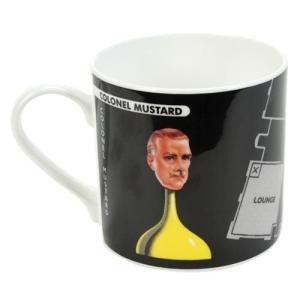 Cluedo Mug - Colonel Mustard