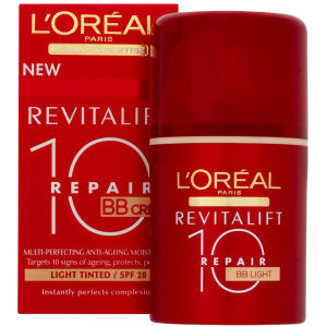 L'Oreal Paris Dermo-Expertise Revitalift Repair 10 BB Cream SPF 20 - Light (50ml)