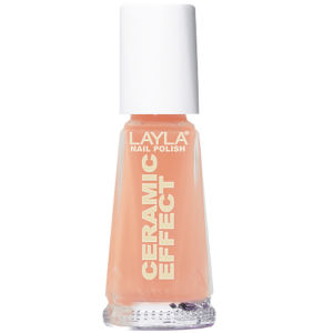 Layla Cosmetics Ceramic Effect Nail Polish N.49 Peachy (10ml)