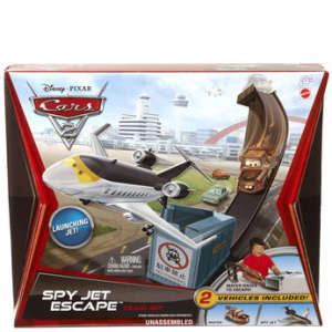 Cars 2 - Track Set Spy Jet Escape