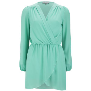 LOVE Women's Wrap Dress - Mint