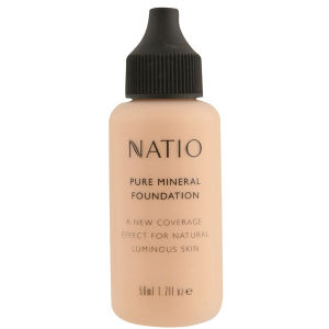 Natio Pure Mineral Foundation - Soft Tan (50ml)