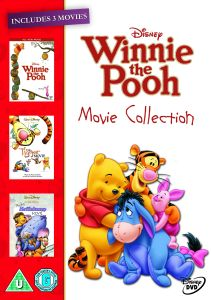 Winnie the Pooh Movie Collection (Winnie the Pooh: The Movie / The Tigger Movie / Pooh's Heffalump Movie)