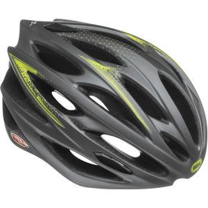 Bell Lumen Cycling Helmet Titanium/Hi Vis Yellow M 55-59cm 2014
