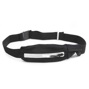 adidas Unisex Media Belt - Black/Silver/Solar Blue