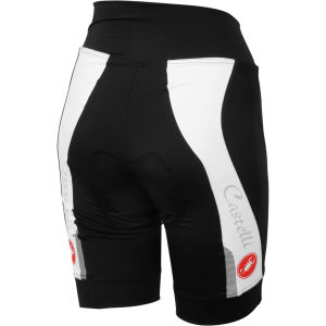 Castelli Visio Tre Shorts - Black/White