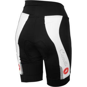 Castelli Visio Tre Shorts - Black/White