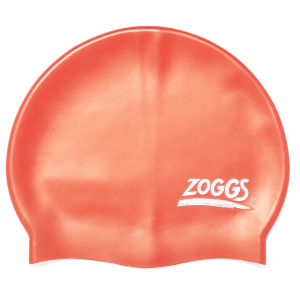 Zoggs Silicone Swimming Cap - Red