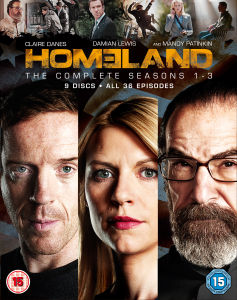 Homeland - Seasons 1-3