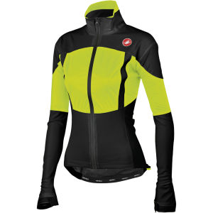 Castelli Women's Confronto Jacket - Black/Yellow