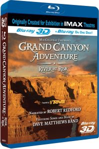 IMAX: Grand Canyon Adventure - River At Risk (Includes 2D and 3D Blu-Ray)