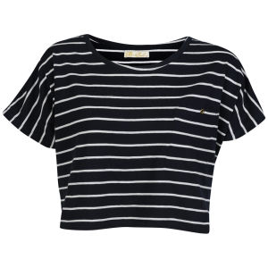 Brave Soul Women's Sally T-Shirt - Navy