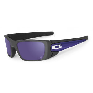 Oakley Men's Fuel Cell Carbon Iridium Infinite Hero Sunglasses - Carbon