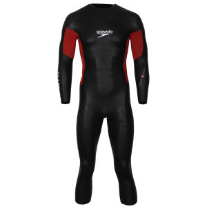 Speedo Men's Triathlon Comp Wetsuit - Black/Red