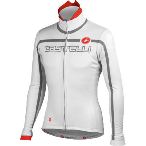 Castelli Velocissimo Team Jacket - White/Grey/Red