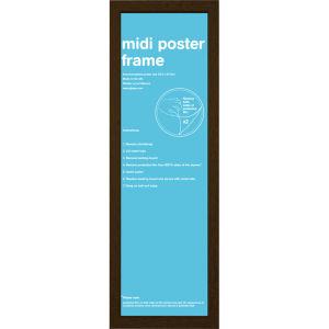 Walnut Frame Midi - 30.5 x 91.5cm