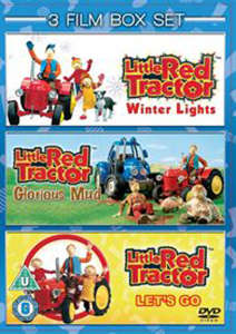 Little Red Tractor Collection - Winter Lights / Lets Go / Glorious Mud