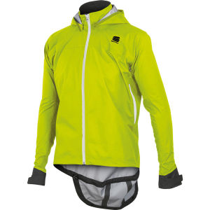 Sportful Uk Rain Jacket - Yellow